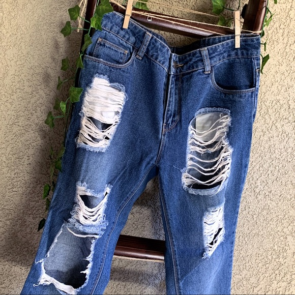 Forever 21 Denim - F21 Distressed Jeans
